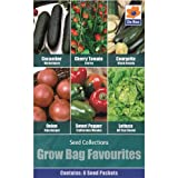Vegetables Seed Collections - 6 in 1 pack - Grow...