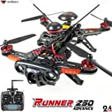 DRONE FPV WALKERA RUNNER 250 Advanced + DEVO 7 incluso + camera 1080P + OSD +(R)