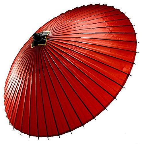はんなり蛇の目傘 和傘 番傘 赤