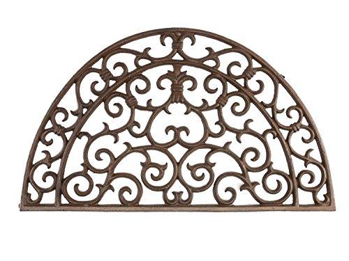 aubaho Fussmatte Fussabtreter Türmatte Eisen Landhausstil im antik Stil doormat iron