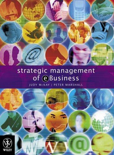 Strategic Management of e-Business