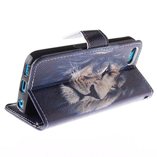 Nutbro [iPhone 5C] iPhone 5C Cases,iPhone 5C Case,Leather Case,Wallet Case,Wallet Leather Case Cover,Flipcase Wallet Carry Leather Skin Cover Case ZZ-5C-4