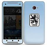 HTC Butterfly S Case Skin Sticker aus Vinyl-Folie Aufkleber TSV 1860 München Fanartikel Fußball