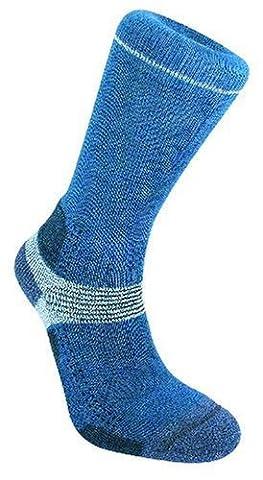 Bridgedale Socks Women's Endurance Trekker Blue/Sky - Small 3 - 4.5 UK