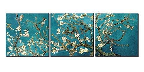 BFCY Arte lona decoración almendra flor