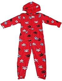 Pijama de una pieza / mono / onesie con diseño de calaveras y huesos para niños
