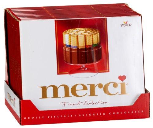 Preisvergleich Produktbild Merci Große Vielfalt,  10er Pack (10 x 250 g Packung)