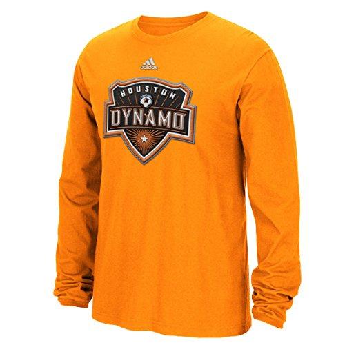 adidas Houston Dynamo MLS High End Patch Men's Long Sleeve T-Shirt