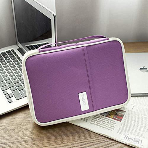 EgBert Mode Große Leisure Bag Multifunktionale Speichertasche Für Travel Business Tickets Kreditkarten Buch Ipad Veranstalter - #4 -