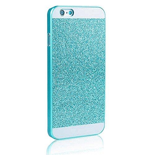 Vandot Smart Cover Housse Coquille Sac Coque Etui Case Hull pour Apple Iphone 4 4S Protection Coque Bing PC le Plastique Premium Luxe Diamant Strass Hull Shell Couvrir Couverture - Bleu Blue bleu