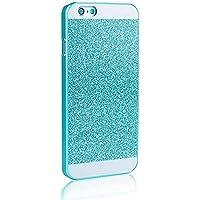 Vandot 1 x 0.8mm Magnifico Ultra-Light iPhone 4 4G 4S Duro PC Caso Cover Glitter Copertura Skin Unico Impareggiabile Smartphone Shell Bumper Housing - Blu