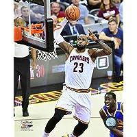 Lebron James Game 4 of The 2017 NBA Finals Photo Print (27,94 x 35,56 cm)