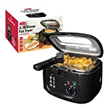 Best Home Deep Fryers - Quest 35230 Benross Deep Fat Fryer with Removable Review