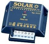 Solar IVT 200013 - Regolatore di carica a energia solare 12/24V 4A, con protezione da scarica profonda