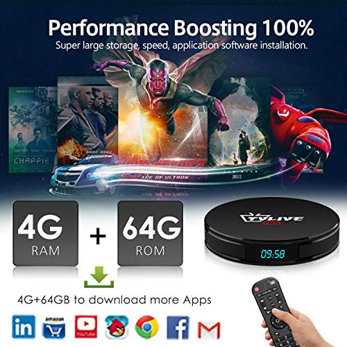 Zoom IMG-1 tv box android 8 1