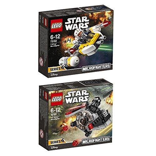 Lego Star Wars 2er Set 75161 75162 TIE Striker Microfighter + Krennic's Imperial Shuttle Microfighter