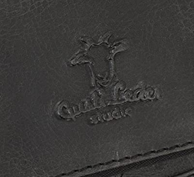 """Gusti Cuir studio """"Chester"""" trousse de beauté trousse de toilette sac à main sac en cuir sac porté main ou épaule avec doublure imperméable pratique unisexe marron vintage 2H30-20-6wp"""