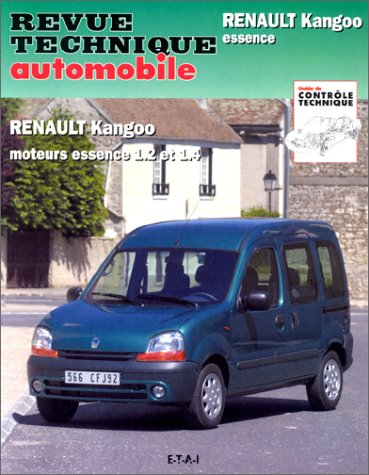 Revue Technique Automobile 632.1 Renault Kangoo Essence