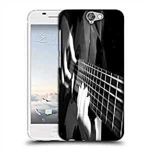 Snoogg Playing Guitar Designer Protective Phone Back Case Cover For HTC one A9