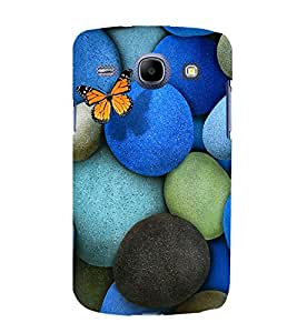 printtech Butterfly Rock Pebbles Back Case Cover for Samsung Galaxy J1 (2016 EDITION )/ J120F (Global); Galaxy Express 3 J120A (AT&T); J120H, J120M, J120M, J120T Also known as Samsung Galaxy J1 (2016) Duos with dual-SIM card slots