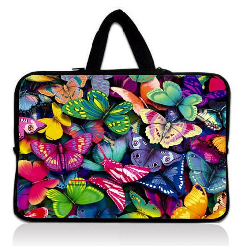colorful-butterfly-15-154-156-in-laptop-carrying-sleeve-case-bag-pouch-with-hidden-handle-for-apple-