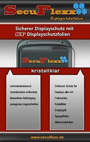 2 x SecuFlexx Crystal Clear (kristallklar) Display Schutzfolie Kodak EASYSHARE G600