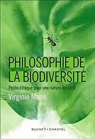 Philosophie de la biodiversité par Virginie Maris