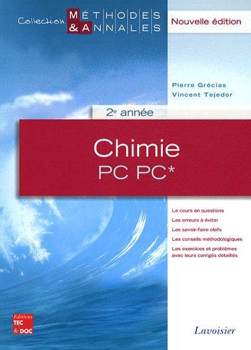 Chimie PC PC* 2e année