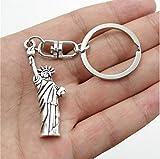 Freiheitsstatue New York Schlüsselanhänger Metall 5cm - 2