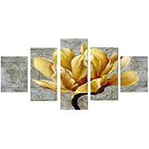 MagiDeal 5 Pedazos Pinturas Cuadro de Lona Arte Mariposa Decoración para Pared - Multi #9, 30/40/50 cm