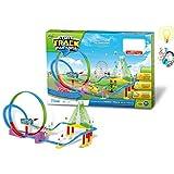Babytintin™ 360 Degree Rotational Paradise Stunt Bridge Track set with light and music (XX-large)