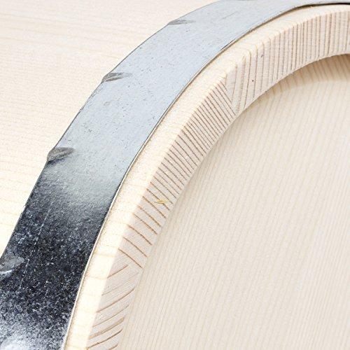 10 Liter Holzeimer Wassereimer Kübel Metallgriff -