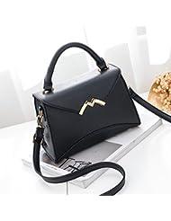Malilove Moda Bolso De Todo Partido Bangalor Verano Nuevo Bolso Satchel Handbag Simple,Black