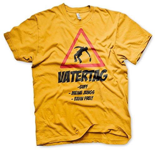 Vatertag Sufftag - Tshirt Gelb