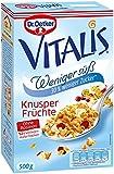 Dr. Oetker Vitalis Weniger Süß Frucht, 500 g