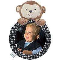 Baby Autospiegel, Rücksitzspiegel für Babys, Rückspiegel Tier Teddy Bär, Set, bruchsicher