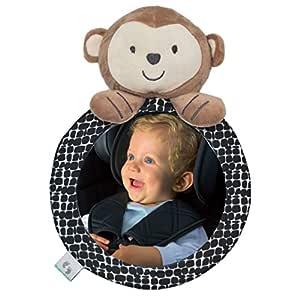 Baby Autospiegel Rücksitzspiegel Für Babys Set Rückspiegel Tier Bruchsicher Auto Spiegel Inkl E Book Baby