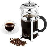 VonShef 8 Glass French Press Cafetiere Coffee Maker - Free 2 Year Warranty