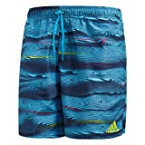 adidas Herren Parley Short Length Badehose, Legend Ink/Core Blue, L