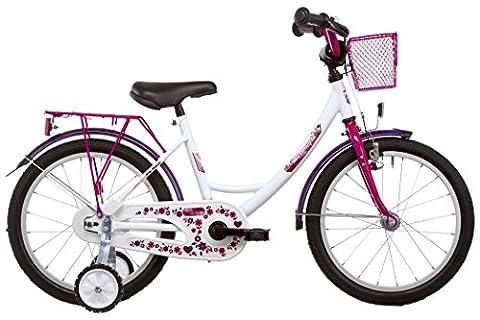 Vermont Girly - Vélo enfant 16 pouces - rouge/rose 2017 velo enfant 12 pouces