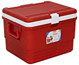 Aristo Insulated Icebox with Gel Technology (25 LTR, Red)