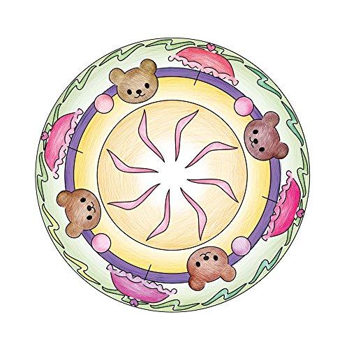 Imagen 3 de Ravensburger Deco Mandala Designer 18647 Hello Kitty - Set para crear diseños decorativos [importado de Alemania]