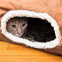 easyology Pets Premium Tunnel pour chat jouet Labyrinthe plissé chute