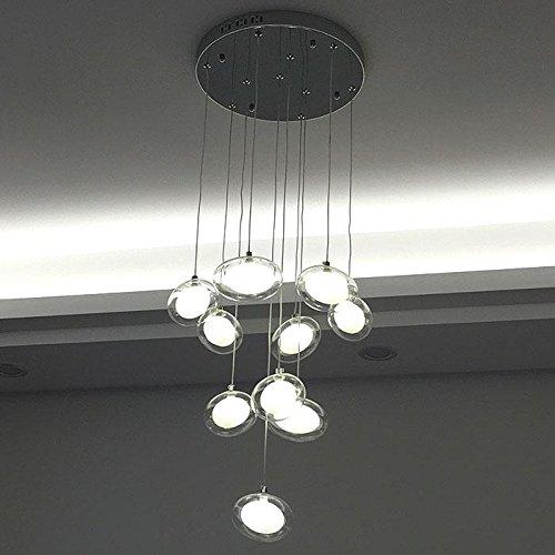 SDKKY Arte LED pesce lampadario di stile , testa 10 /LED luce bianca