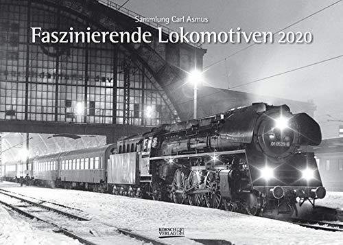 Faszinierende Lokomotiven 2020: Din A3 Wandkalender. Bildkalender zum Thema Züge