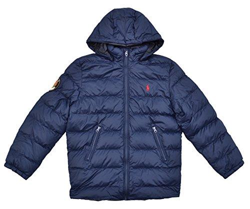 Ralph Lauren Steppjacke Jacke für Jungen Blau Größe L (14-16 Jahre) (Ralph Jacke Jungen Lauren)