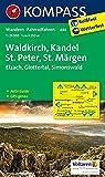 Waldkirch, Kandel, St.Peter, St. Märgen: Wanderkarte mit Aktiv Guide und Radwegen. GPS-genau. 1:25000 (KOMPASS-Wanderkarten, Band 884)