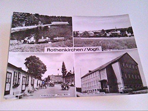 AK. Rothenkirchen/Vogtl. Hans-Beimler-Oberschule. Kinderferienlager