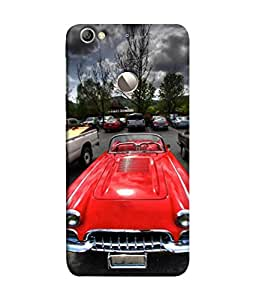PrintVisa Designer Back Case Cover for LeEco Le 1s :: LeEco Le 1s Eco :: LeTV 1S (Cute Car In Beautiful Background)