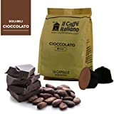 96 cápsulas de café compatibles Nescafé Dolce Gusto - Chocolate - 96 Cápsulas compatible con maquinas Nescafé Dolce Gusto - (Paquete de 6x16 por un total de 96 Capsules) - Il Caffè italiano